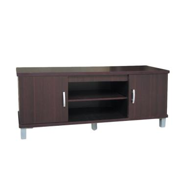 Kirana BF 825 DM  Furniture Rak TV/Audio Rack/Meja TV - Dark Mahony