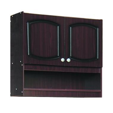 Kirana KKA 912 Furniture Kitchen Se ... - Dark Mahogany [2 Pintu]