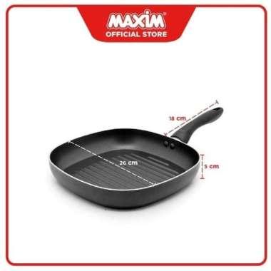 Baru Maxim Square Grill 26Cm Pemanggang Alat Panggang Frypan Termurah Cuci Gudang