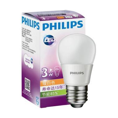 Philips Bulb LED Lampu - Putih [3 W]