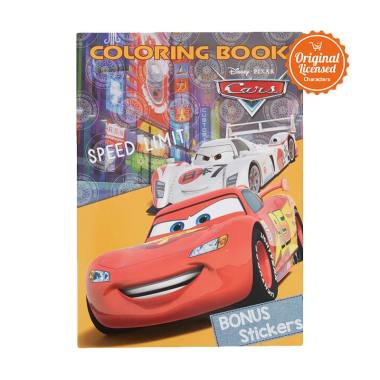Cars Speed Limit Coloring Book L