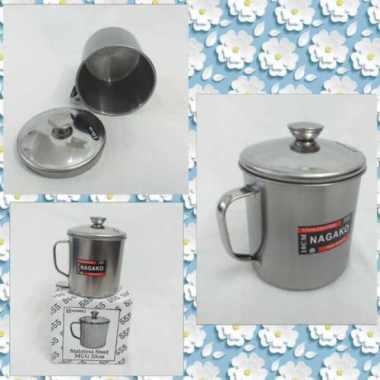harga Termos Thermos Mug Gelas Stainless+Tutup Panas Dingin 10cm NAGAKO Blibli.com
