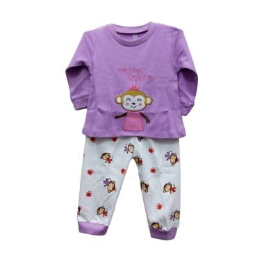 Gracie The Queen Baju Tidur Bayi Perempuan - Purple