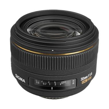 Sigma Lens 30mm f/1.4 EX DC HSM for Nikon (A)
