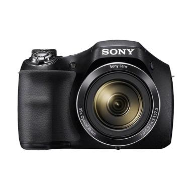 SONY Cyber-Shot DSC-H300 Kamera Pocket - Hitam