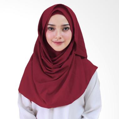 Milyarda Hijab Orcida Hijab Instan - Maroon