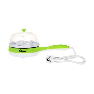 Oxone OX-181FE 2in1 Frypan & Egg St ... Pengukus Elektrik - Hijau