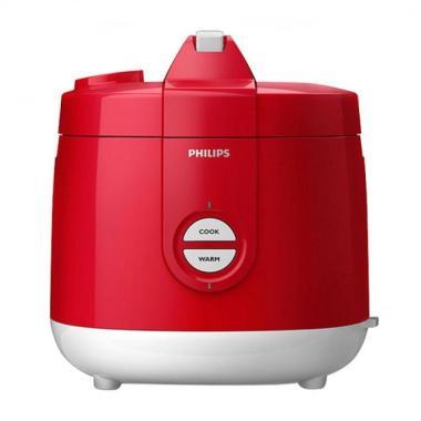 PHILIPS HD 3127 Rice Cooker - Merah