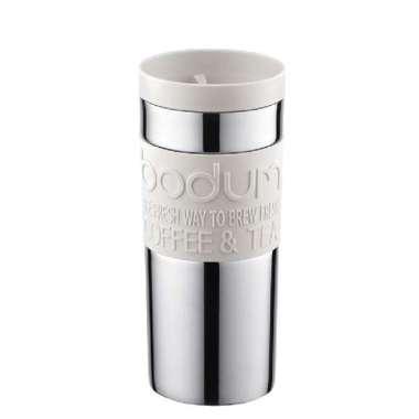 harga (Bodum) Bodum Double Layer stainless steel datar tutup gelas 350cc - Beige Blibli.com
