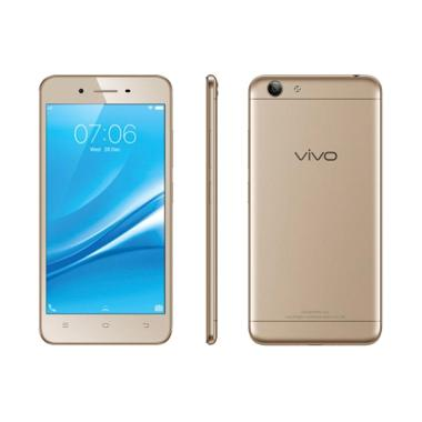 Vivo Y53 Smartphone - Gold [16GB/2G ... re 750 Mililiter & I-Ring