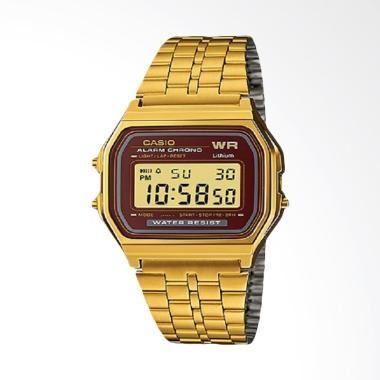 CASIO Jam Tangan Pria - Gold A159WGEA-5DF