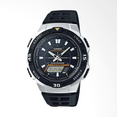 CASIO Jam Tangan Pria - Black Silver AQ-S800W-1EVDF