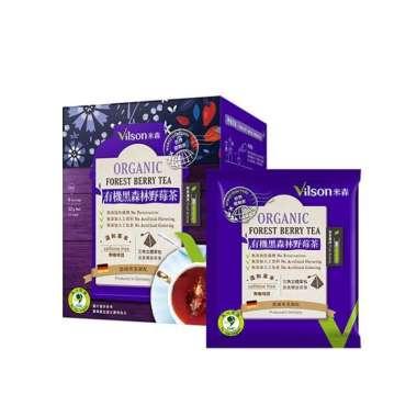 harga (Vilson) Vilson Organik Black Forest Wild Berry Tea (4g x 8 tas / kotak) Blibli.com