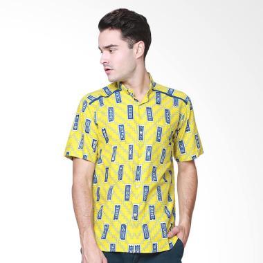Days by Danarhadi Men Kerton Sineba ...  Baju Batik Pria - Yellow