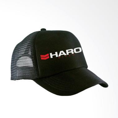RLUCK8888 Jaring Trucker Haro Bikes Topi - Hitam