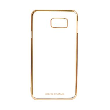 Samsung Shining List Chrome Hardcase Casing For Galaxy S7 Edge