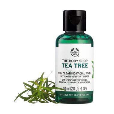 The Body Shop Tea Tree Skin Clearing Facial Wash [60 mL]