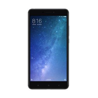 Xiaomi MI MAX 2 Smartphone - Black [64GB/4GB] Free Tempered Glass