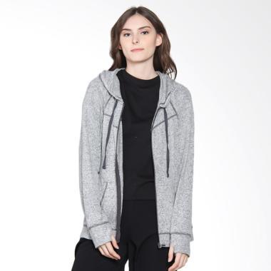 Danskin Now Hoodie Jacket Wanita - Light Grey 25fd7c567d