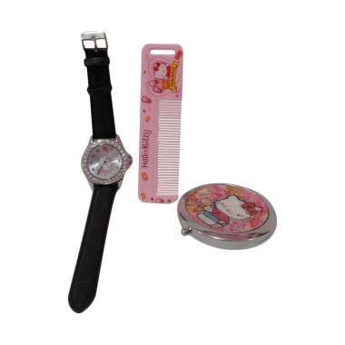 Hello Kitty HK-009 Paket Dandan Jam Tangan Wanita - Multicolor