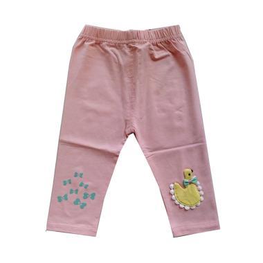 Mom Angsa Legging Anak - Peach