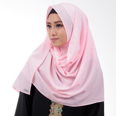 Inara House Pashtan Rafania Jilbab Instant - Baby Pink