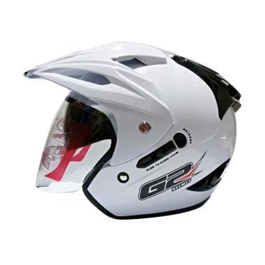 G2 Helmet Exterminator Solid Helm Half Face - White
