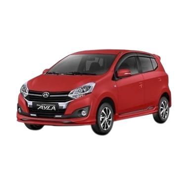 harga Daihatsu New Ayla 1.2 R Mobil - Red Solid [Uang Muka Kredit ACC] 36 A/T Semarang Blibli.com