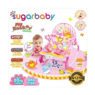 Sugar Baby My Rocker 3 Stages Tea Time Baby Bouncer