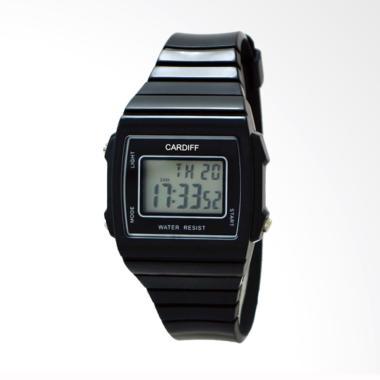 CARDIFF Jam Tangan Pria - Black LCD C 245