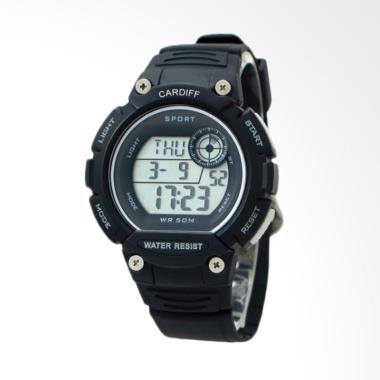 CARDIFF Jam Tangan Pria - Black LCD C 250