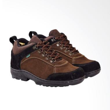 Frandeli Rockie Work Safety Boots Sepatu Pria - Brown