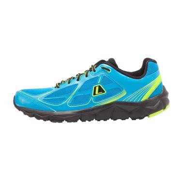 League Leopard M Running Shoes -  Blue Green