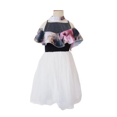 AMISSA Off Shoulder Ruffle Dress Anak Perempuan