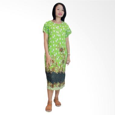 Batik Alhadi DPT001-53B Daster Kancing Baju Tidur Lengan Pendek