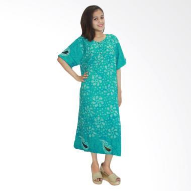 Batik Alhadi RDT001-10A Daster Kancing Baju Tidur Lengan Pendek
