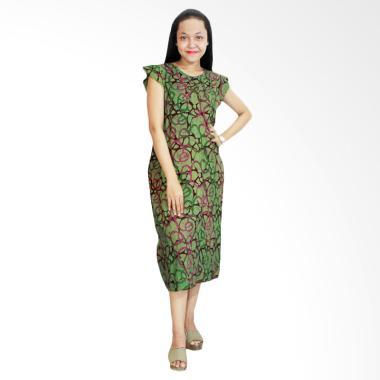 Batik Alhadi RDT006-02D Daster Yuke ... Cap Pekalongan Baju Tidur