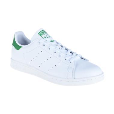 adidas Originals Men Stan Smith Sepatu Olahraga Pria - White [M20324]
