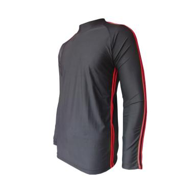 Rainy Collections Baju Renang Pria - Lis Merah