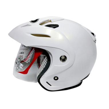 harga KYT Romeo Helm Half Face - Solid White Blibli.com