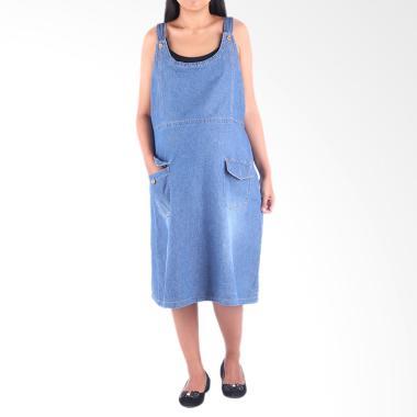 HMILL D1353 Dress Hamil Menyusui - Jeans