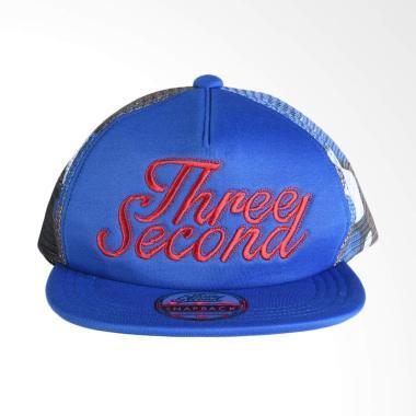 3SECOND 0211 Men Hat - Blue 102111718