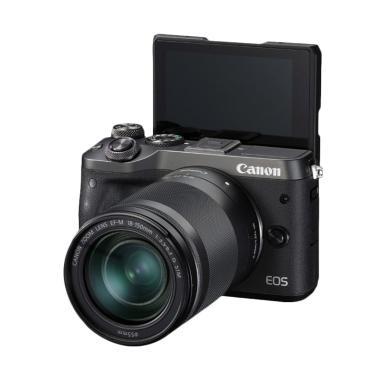 Canon EOS M6 EF-M18-150mm IS STM Kamera Mirrorless - Black