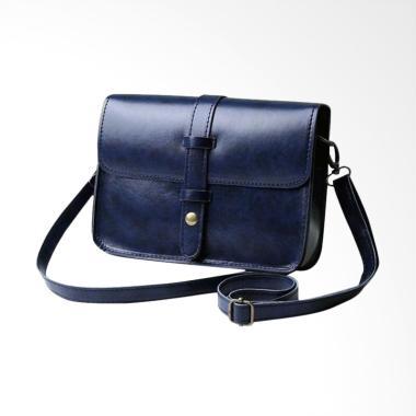 Lansdeal Vintage Purse Bag Leather  ... lder Messenger Bag - Navy