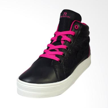 Sevenray Elena Sepatu Wanita - Black Pink