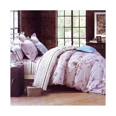 Melia Bedsheet J-3749 Katun Jepang Bed Cover - Floral Print