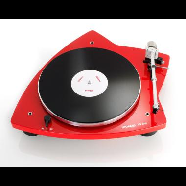 THORENS TD 209 Turntables - Red