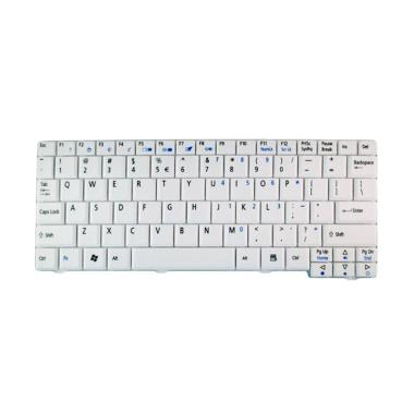 Acer Keyboard Notebook for 531H/ZG5/ZG8/A110/A150 - White [Original]