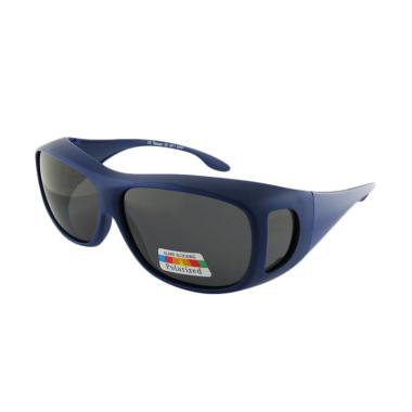 OJO Sport Cover All Drive Fish Wrap Sunglasses - Blue [I2I-6087]