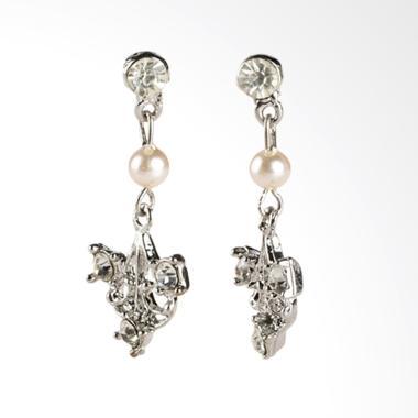 1901 Jewelry Adishty G0510027.GW27 Giwang Women Earrings - Silver